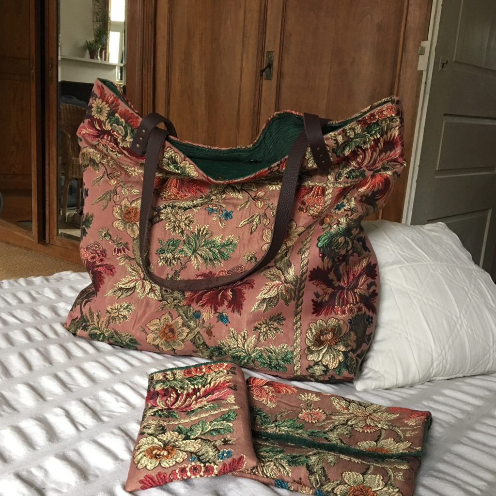 sac cabas rose